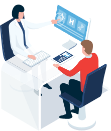 doctor consulting